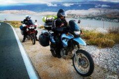 Motocykle na wyspie Pag