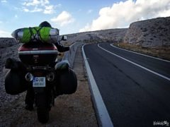 Pag island by motorcycle