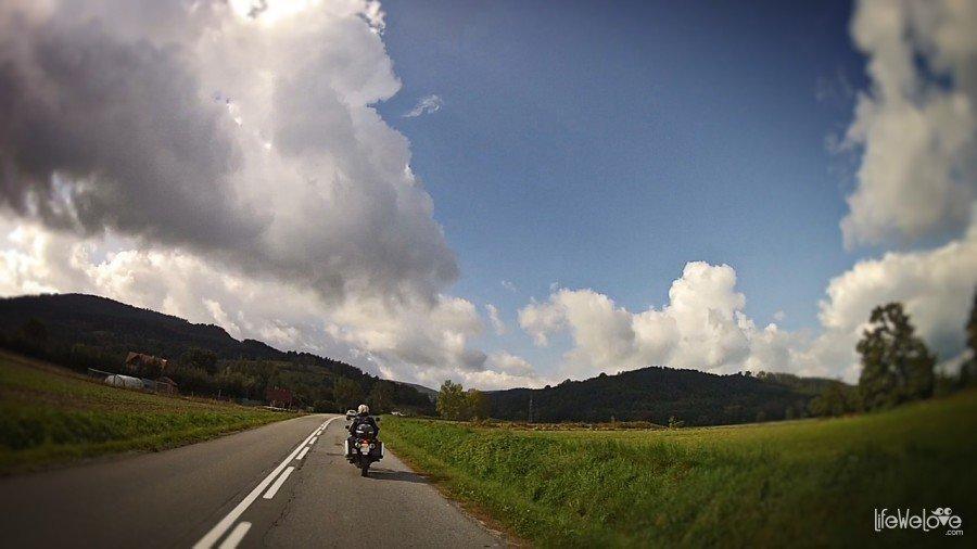 Góry Sowie motocyklem