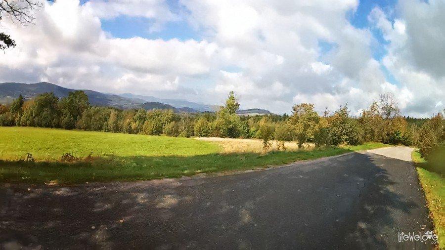 Panorama z Przełęczy Walimskiej