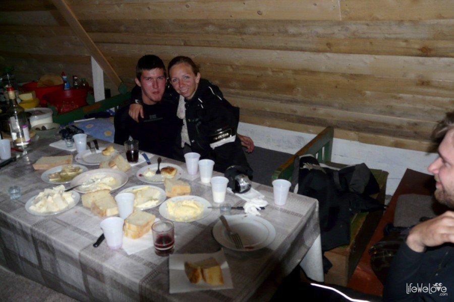 Chata pasterska w Czarnogórze
