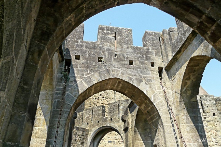 Architektura Carcassonne