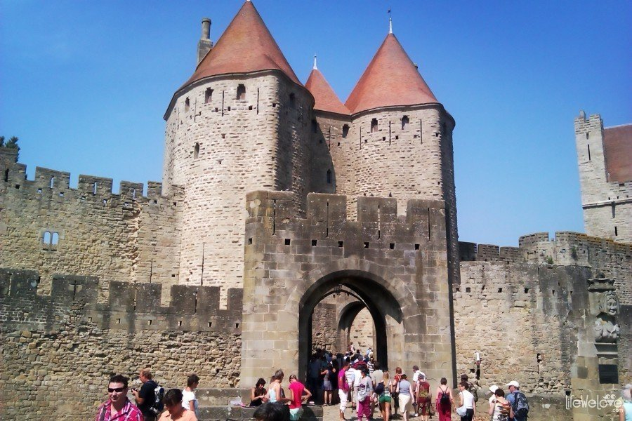 Carcassonne entrance gate