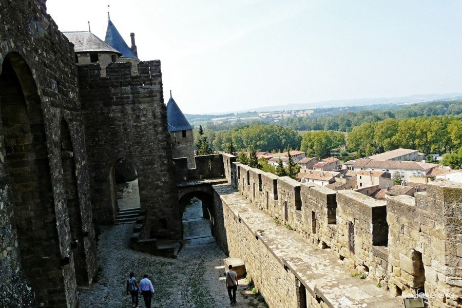 Carcassonne walls