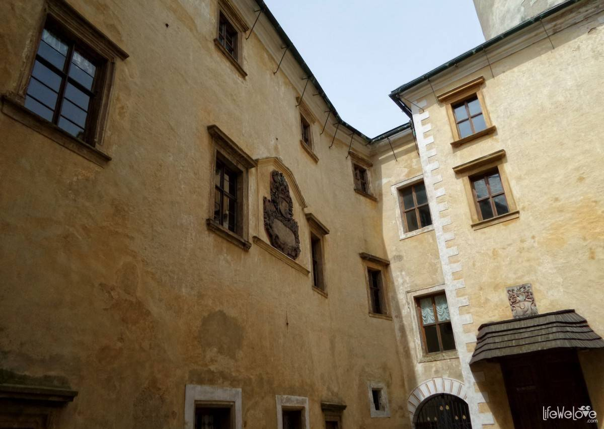 Courtyard of the Castle Frýdlant