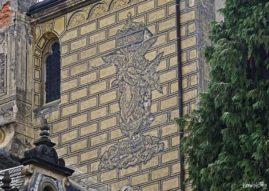 Malunki na ścianie zamku Frydlant