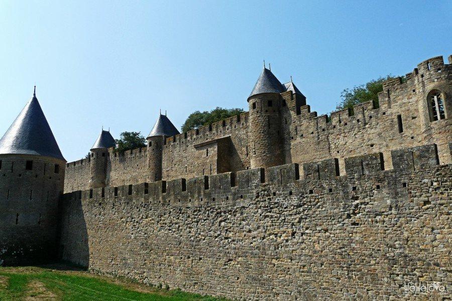 Mur obronny Carcassonne