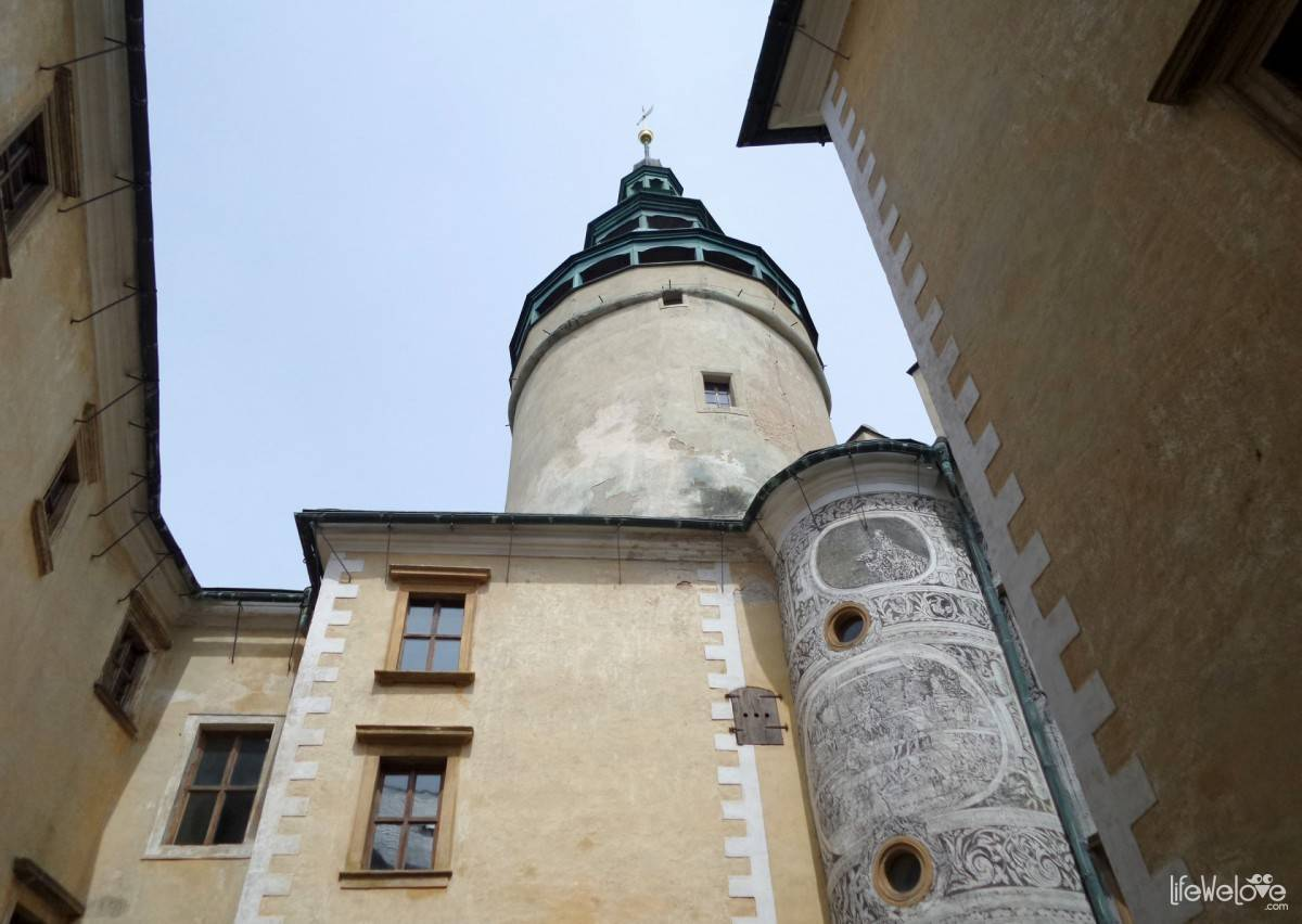 The old part of the Castle Frýdlant