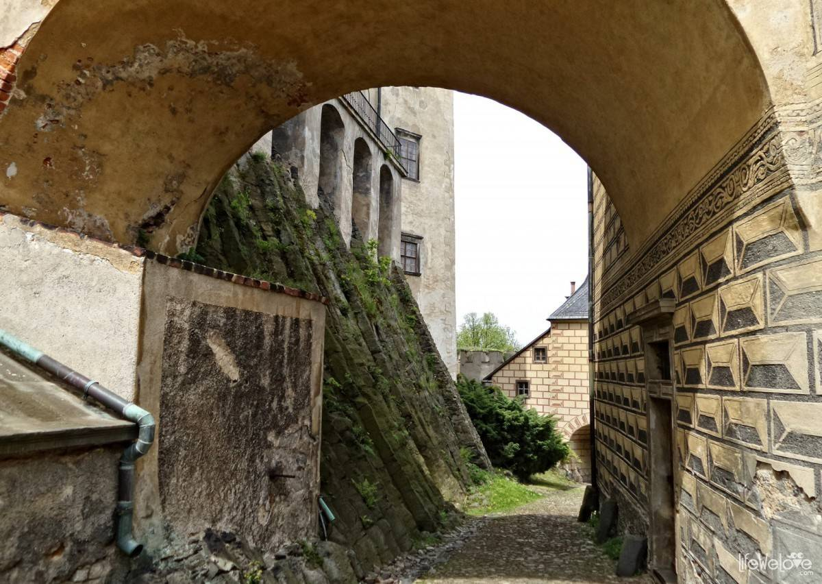 Entrance to the Castle Frýdlant