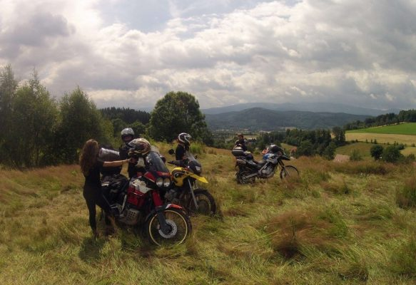 Wycieczka motocyklowa - Karkonosze