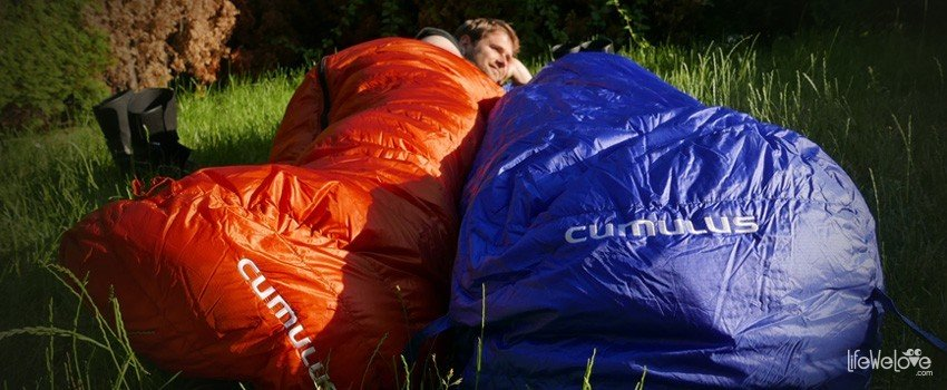 Cumulus down sleeping bags