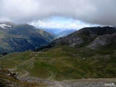 Widoki z Edelweißspitze