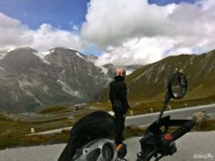 Liwia Klich on the Grossglockner Alpine Road