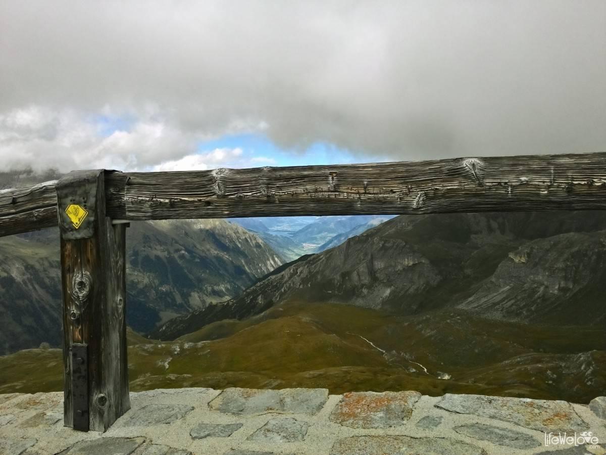 Widok z Edelweißspitze Grossglockner
