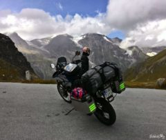Motorcycle journey to the Grossglockner Alpine Road