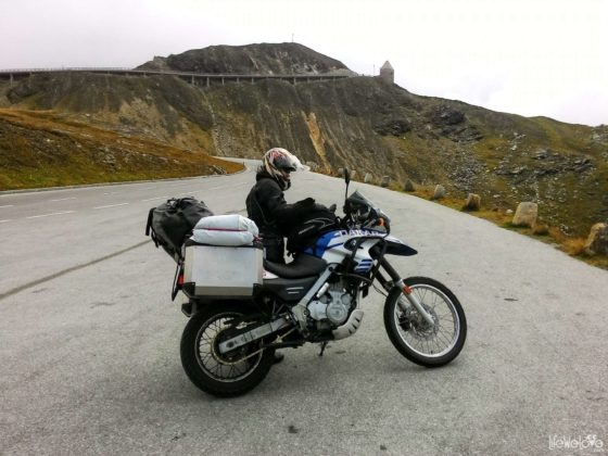 BMW Dakar on the Grossglockner