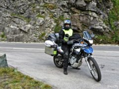 BMW F650 GS Dakar on Grossglockner Alpine Road