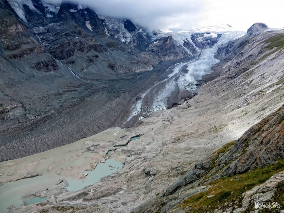 Pastarze glacier on the Grossglockner