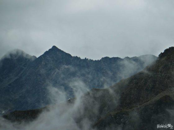 Alps on the Grossglockner route