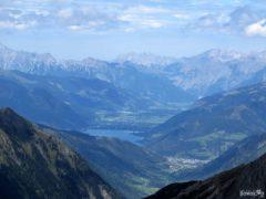 Widok z Edelweißspitze na Grossglockner