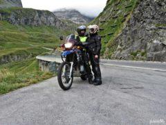 Motocyklem na Grossglockner