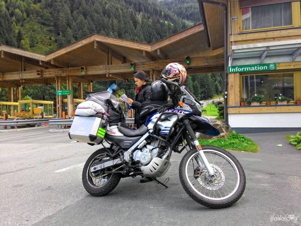 Początek trasy Grossglockner Hochalpenstrasse