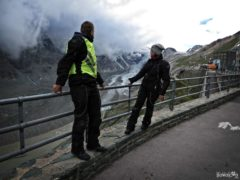 Glacier Pasterze on Grossglockner route