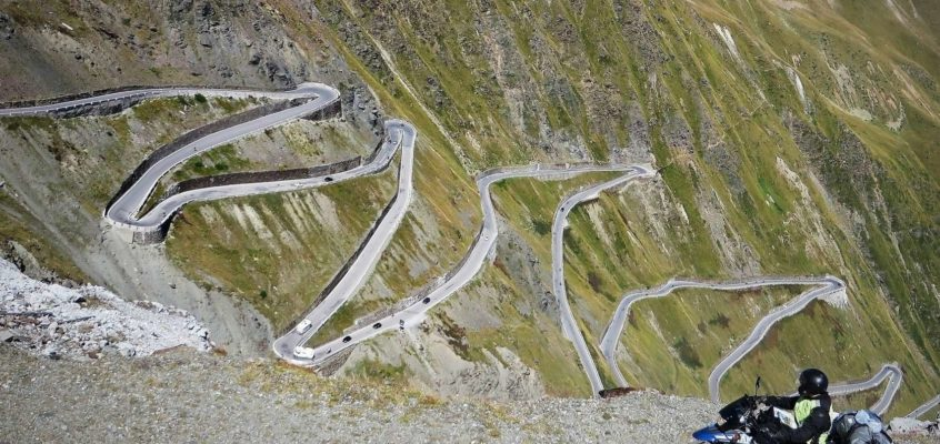 The Stelvio Pass, the biggest ZigZag in Europe