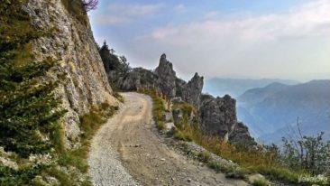 Droga na przełęcz Baremone