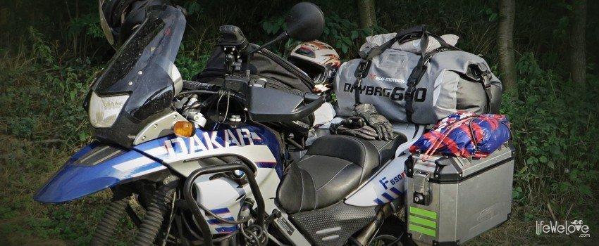 Kufry motocyklowe na Dakar