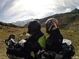 Stelvio Pass by motorbike
