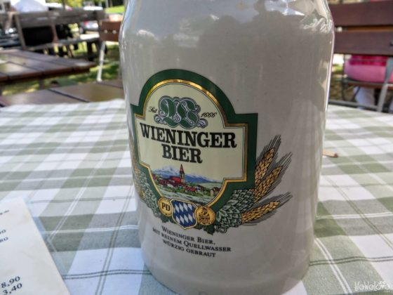 Traditional Bavarian beer