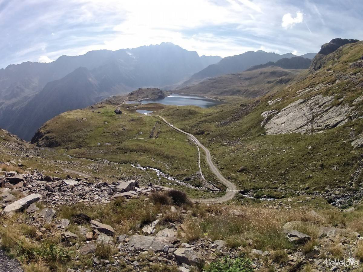 Lago Nero of the Gavia Pass