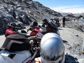 Motocykle na Stelvio
