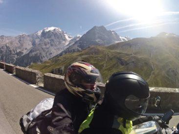 Przełęcz Stelvio motocyklem