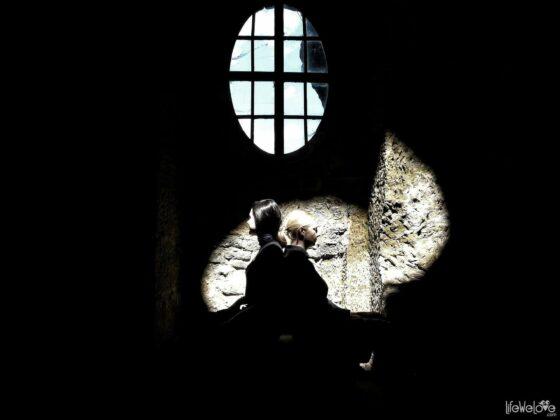 W kaplicy zamku Sloup