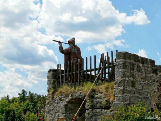 Wędrowiec zamku Sloup