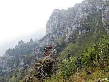 Widoki na przełęcz Baremone