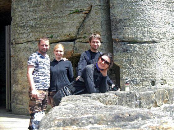 Wycieczka do zamku Sloup