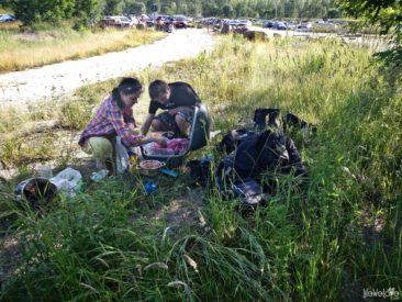 Piknik nad stawem