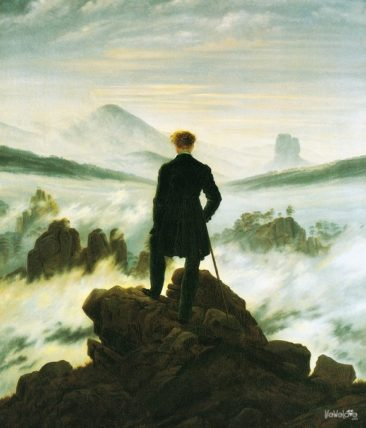Wanderer above the Sea of Fog, C. D. Friedrich, 1818