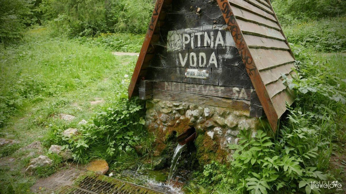 Pitna woda w Słowackim Raju