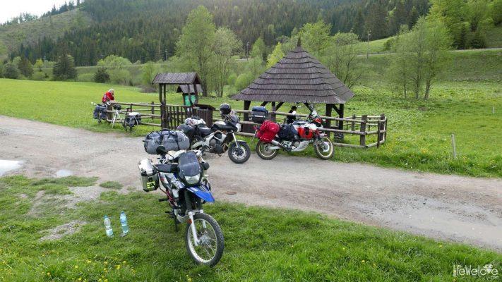Slovakia on a motorcycle