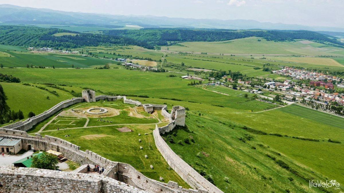 Zamek Spiski
