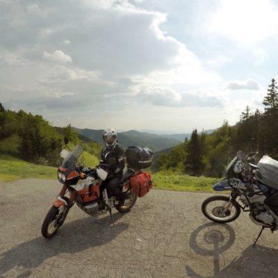 Słowacja motocyklem