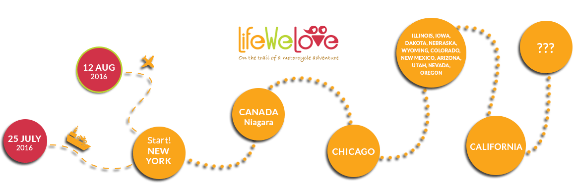 LifeWeLove route