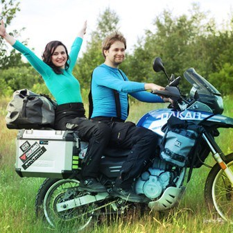 We're setting off on a dream motorcycle journey around America!