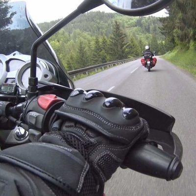 Slovakia on a motorbike