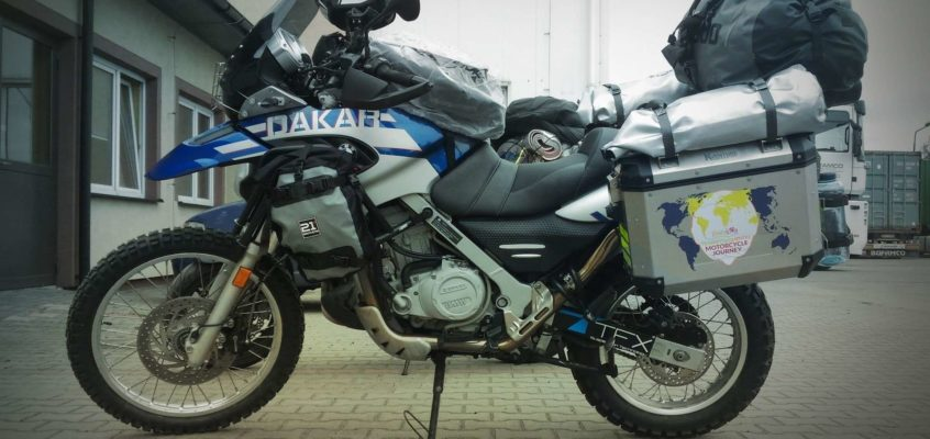 F650 GS Dakar ready to go