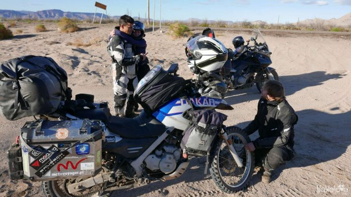 Baja California by motorbike